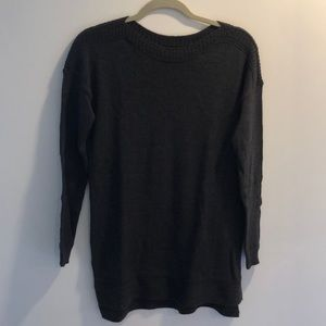 Old Navy Charcoal Grey Tunic Sweater